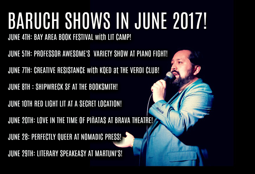 JUNE SHOWS BARUUUUCH