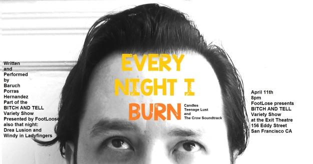 everynight I burn
