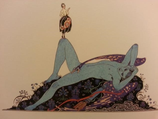Blue Faerie from picture book